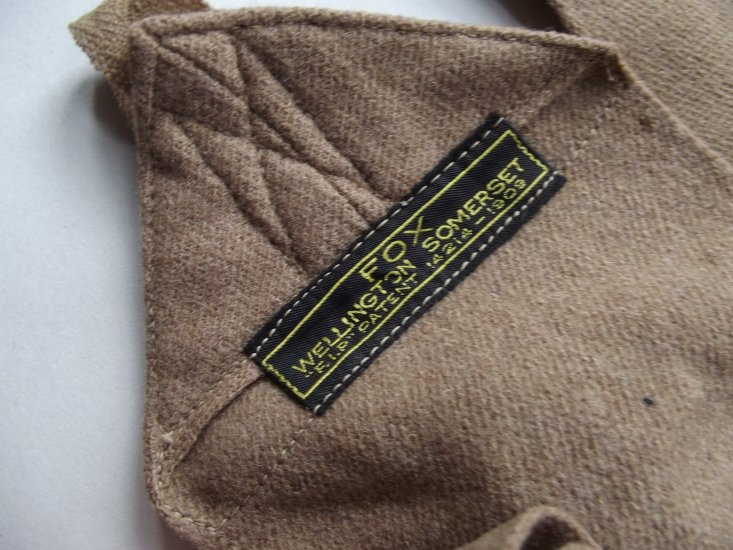 WW1 OFFICERS FOX PUTTIES LIGHT BROWN - Click Image to Close