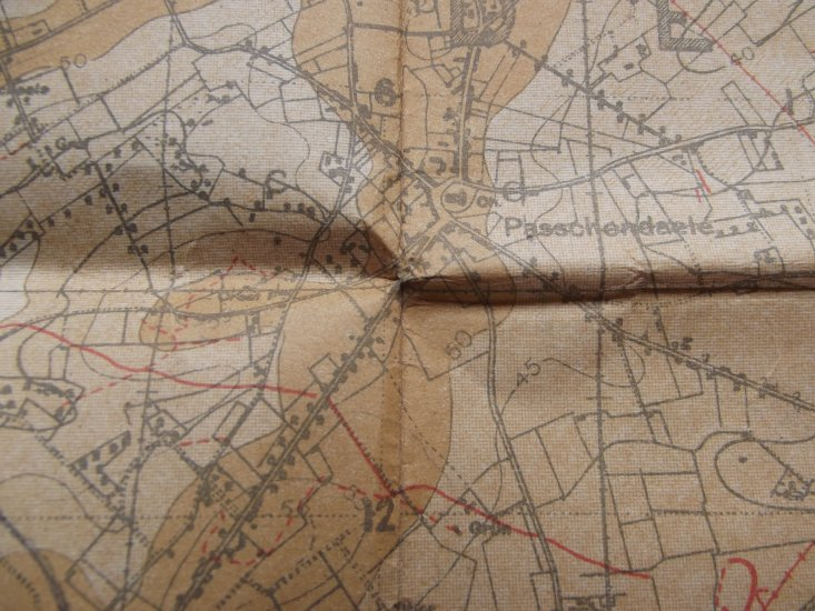WW1 TRENCH MAP POLYGON WOOD DATED 9/9/17 - £0.00 : DBG Militaria ...