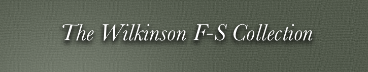 Wilkinsons FS collection